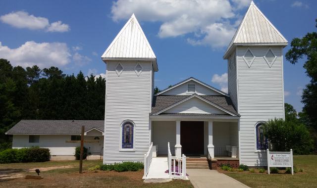 Methodist Church, Greshamville, Georgia, USA